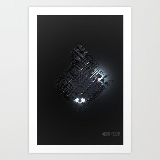 Mother Cube Art Print