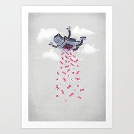 Oh, Happy Day! Art Print