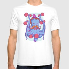 Otto the stronger octopus  Mens Fitted Tee MEDIUM White