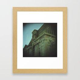Ruins of Michigan Central Station   Framed Art Print