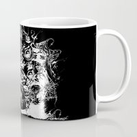 nightmare Mugs featuring Nightmare by George Peters