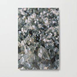 Crystal wall Metal Print