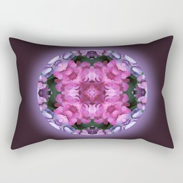 Tranquility Mandala for Life Rectangular Pillow