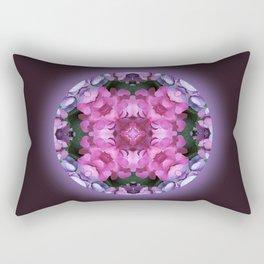 Tranquility Mandala for Life Rectangular Pillow