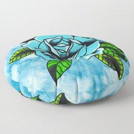 Blue Floor Pillow