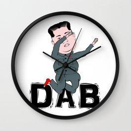 Kim Jong Un Dabbing Wall Clock