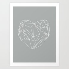 Heart Graphic 6 Art Print