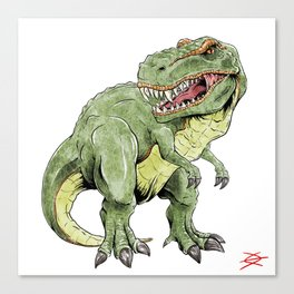 King Lizard Canvas Print