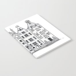 Amsterdam Canal Houses Sketch Notebook