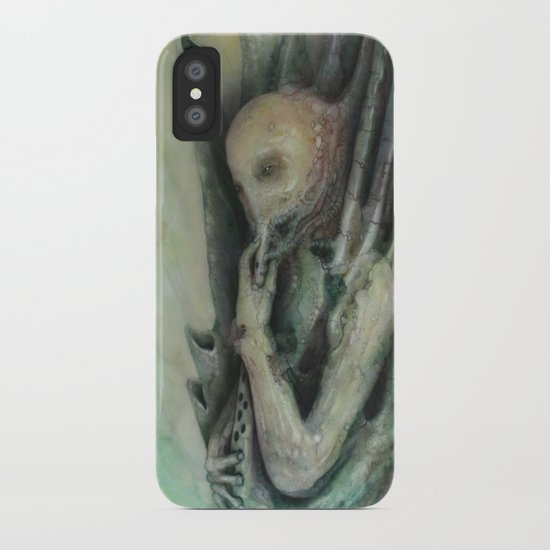 The Bagpipe player iPhone Case