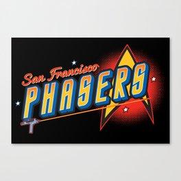 San Francisco Phasers Canvas Print