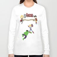 avenger Long Sleeve T-shirts featuring Avenger Time! by Det Guiamoy