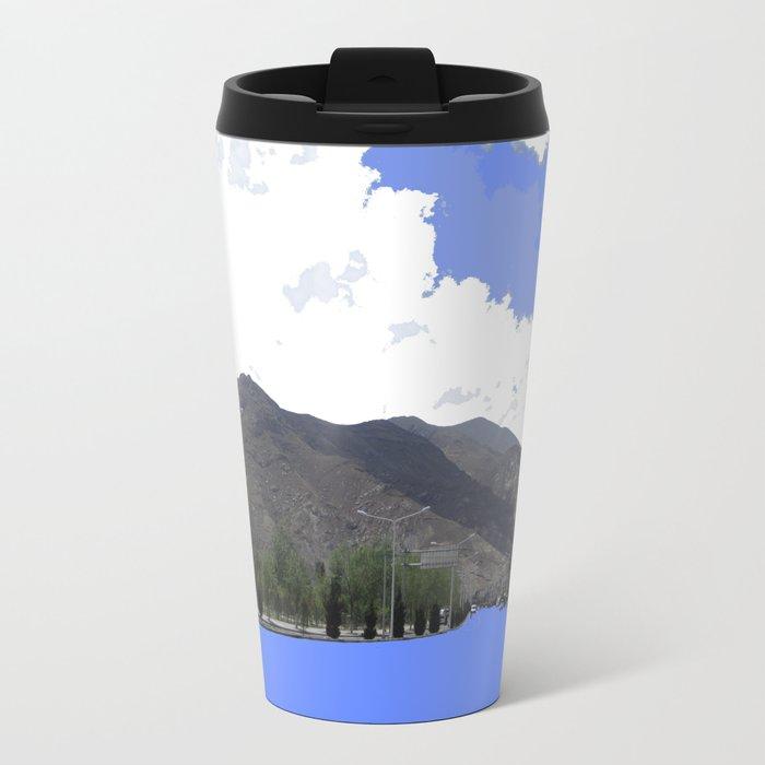Lots Of Fresh Air Metal Travel Mug