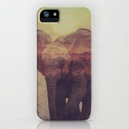 Little ones: Elephant iPhone Case