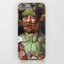 Giuseppe Arcimboldo Vertumnus iPhone Case