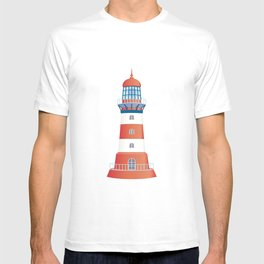 nautical lighthouse T-shirt