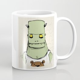 Monster & Teddy Coffee Mug