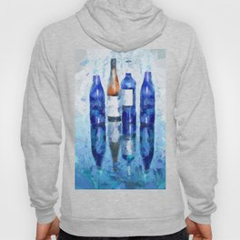 Wine Bottles Reflection Hoody