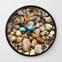 egg Wall Clocks featuring Egg by Mylittleradical