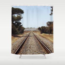 Tracks......... Shower Curtain