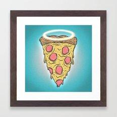 St. Pizza Framed Art Print