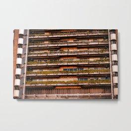 Edificio sostenible Metal Print