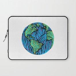 Earth | White Laptop Sleeve