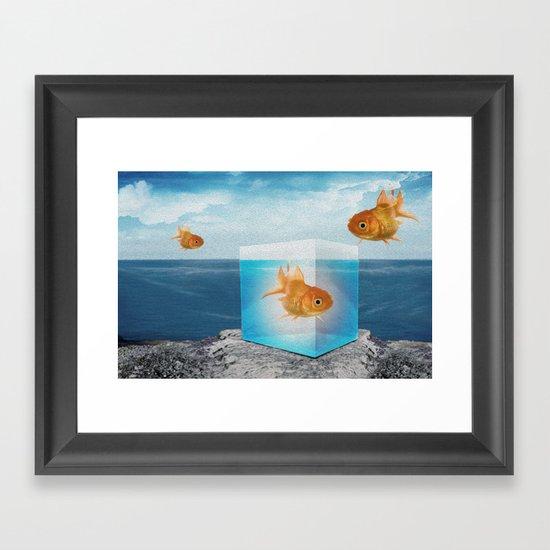 horatio by the sea Framed Art Print