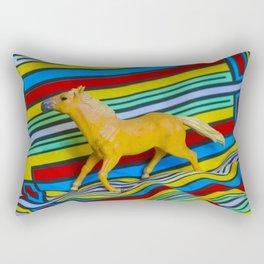 Modern Horse Rectangular Pillow