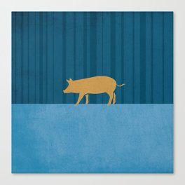Tamworth Pig Print Canvas Print