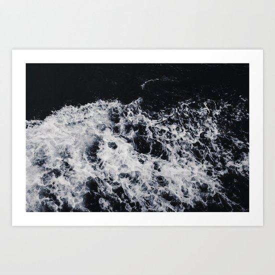 Deep water #ocean Art Print