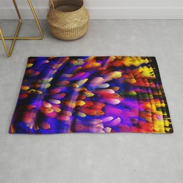 Midnight at the Coral Reef Rug