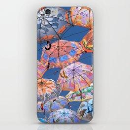 Umbrella Canopy 2 iPhone Skin