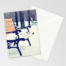 One snowy morning... Stationery Cards