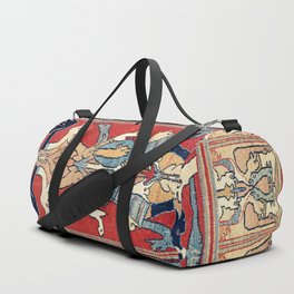 Sehna Kurdish Northwest Persian Rug Print Duffle Bag