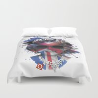 edm Duvet Covers featuring Queen Listen Music by Sitchko Igor