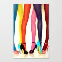 legs Canvas Prints featuring Legs by Wanker & Wanker