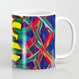 6825-LB Two Bodies Merge as One - Abstract Figurework Coffee Mug
