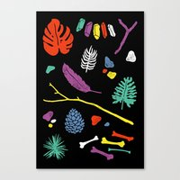 Organisms Canvas Print