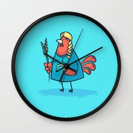 Virgo (Zodiac set) Wall Clock