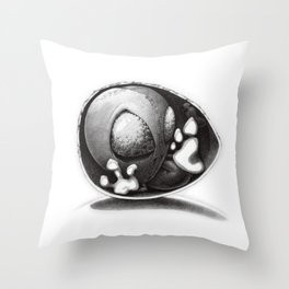 Alien Baby Has Questions Throw Pillow