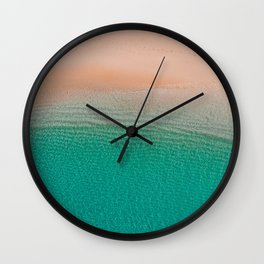 5 o'clock; and there's a beach somewhere! Wall Clock
