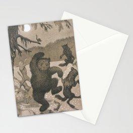 Theodor Kittelsen Dans i Maaneglans Stationery Cards