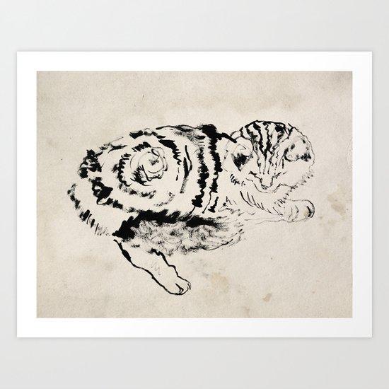 Harryhausen  Art Print