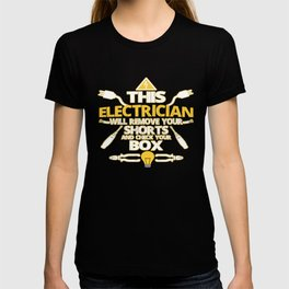 This ELECTRICIAN T-shirt