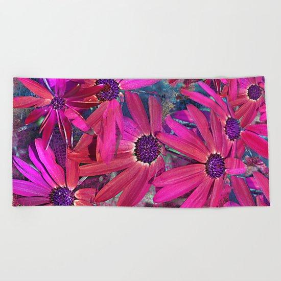 Flower carpet(58) Beach Towel