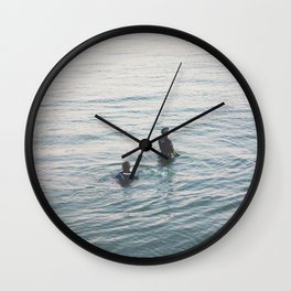 the suits Wall Clock