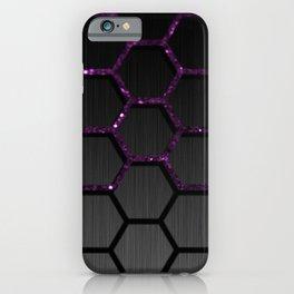 Purple Chain iPhone Case