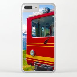 Ready to Go Clear iPhone Case