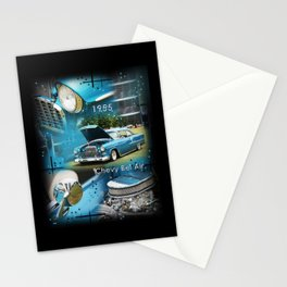 1955 Chevy Bel Air Stationery Cards